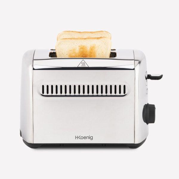 toaster prajitor paine extra large 40 mm otel inoxidabil
