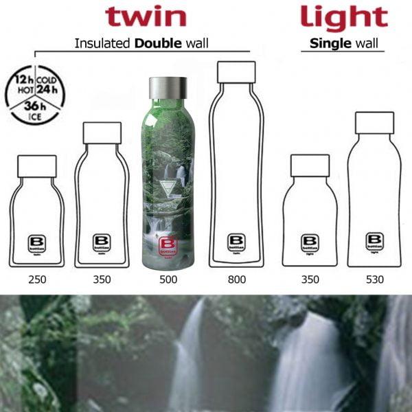 sticla termos b bottles 500 ml casa bugatti terra element