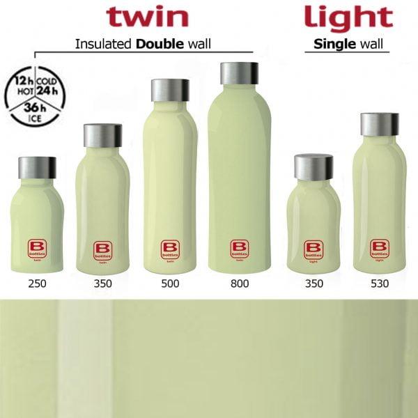 sticla termos b bottles 350 ml casa bugatti lime